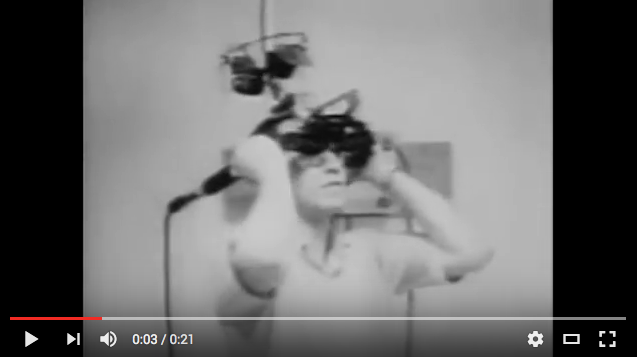 First Virtual Reality headset 1965