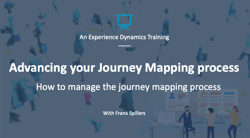journey mapping process management webinar
