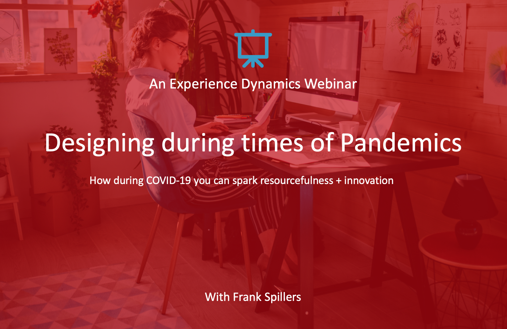 webinar cover slide-designing during times of pandemics