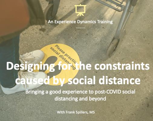designing for social distancing webinar
