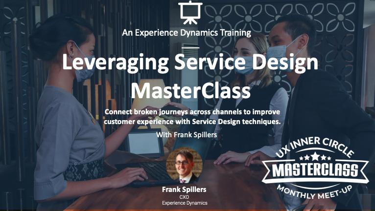 Leveraging Service Design techniques MasterClass- hotel scene