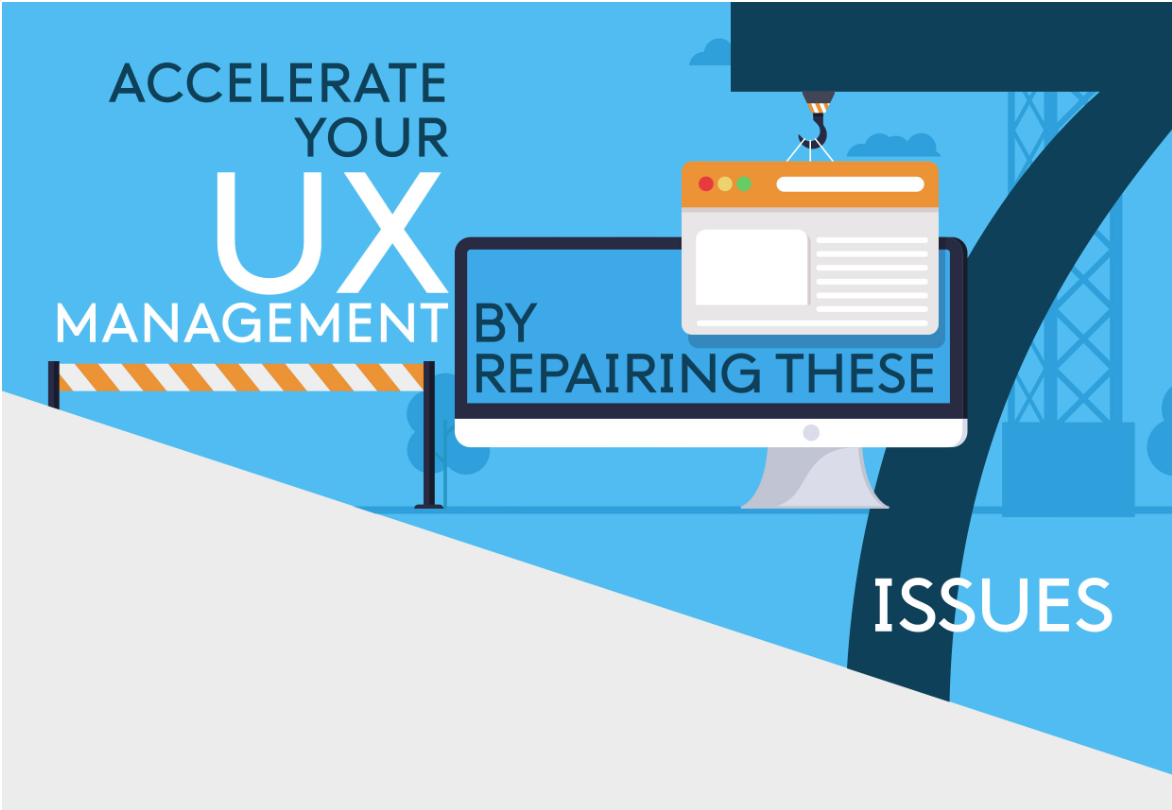 UX management infographic- 7 fixes