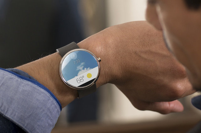 Android Wear UI