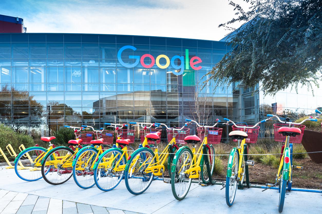 Google campus image