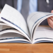 diary study- flipping through a book