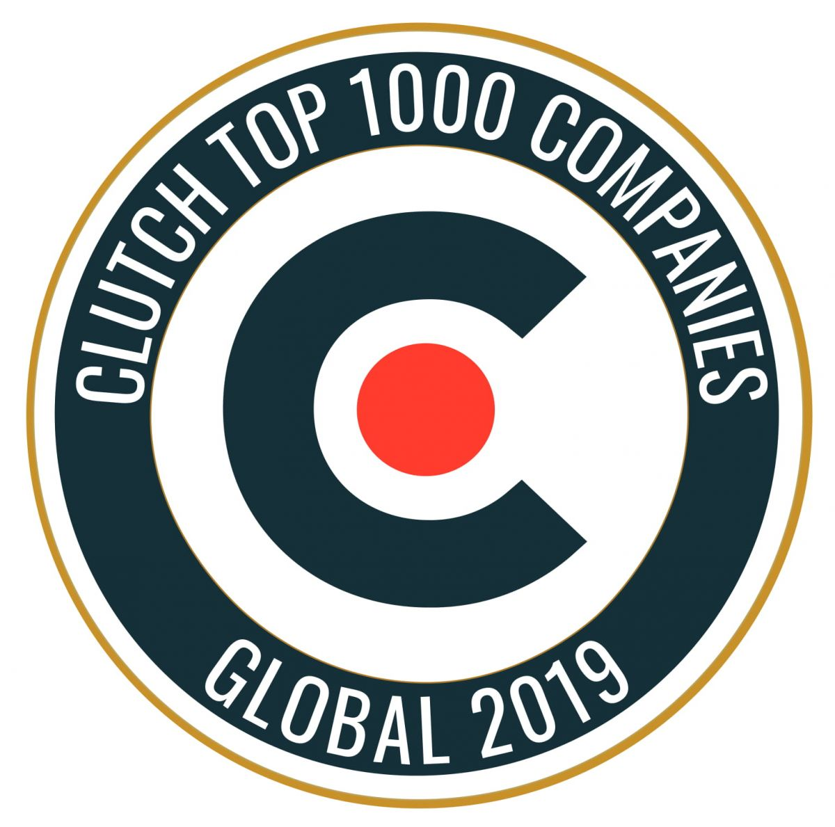 Clutch Top 1000 Companies award for Experience Dynamics