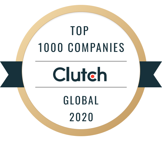 clutch global 1000 company award