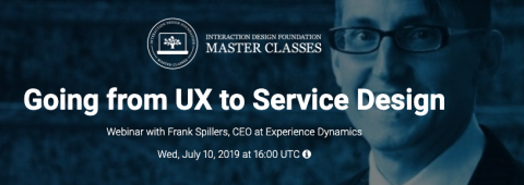 Going from UX to Service Design