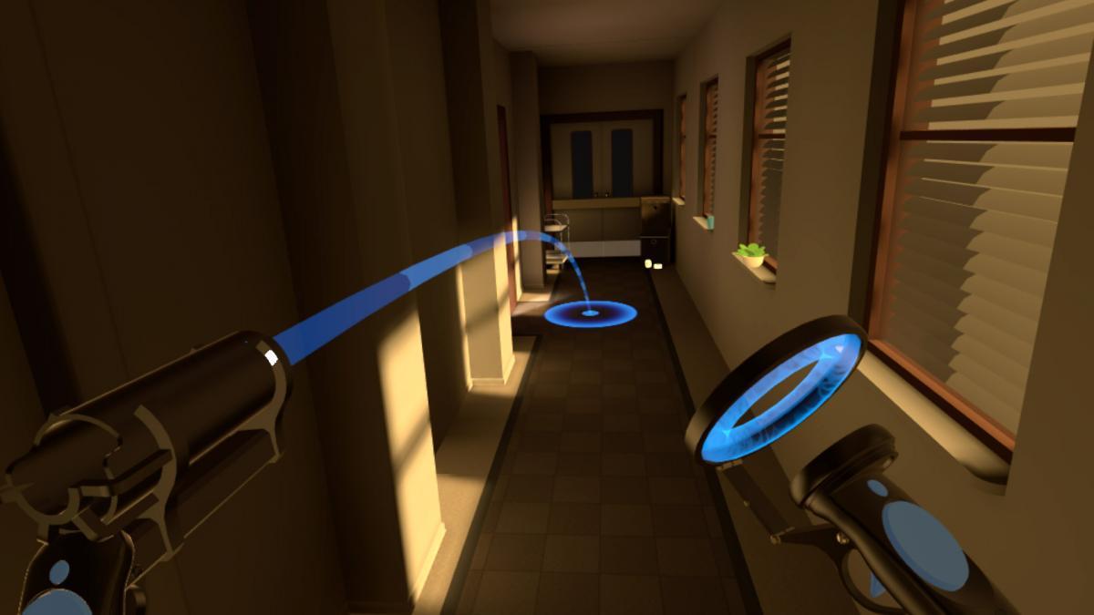teleportation VR