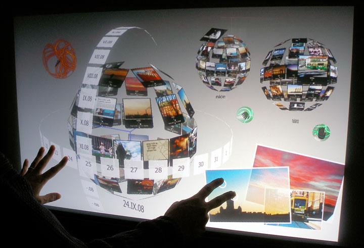 City Wall 3D interface